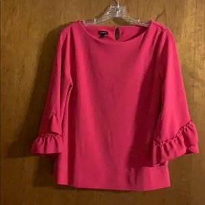 Talbots button hole blouse